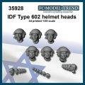 FC★MODEL[FC35928] IDF cabezas con casco type 602. Escala 1/35.