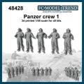 FC★MODEL[FC48428] Tripulaci?n Panzer, set 1, escala 1/48