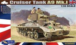 画像1: ゲッコー・モデル[GEC35GM0003]1/35 巡航戦車 A9 Mk.I