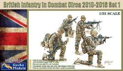 画像1: ゲッコー・モデル[GEC35GM0015]1/35 現用英軍歩兵 戦闘中 2010〜2016年頃 セット1(4体セット)