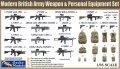 ゲッコー・モデル[GEC35GM0026]1/35 現用イギリス軍 小火器と個人装備セット