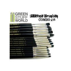 画像3: グリーンスタッフワールド[GSWD-111]ブラックシリコンシェイパーブラシ サイズ ♯6 ハードタイプ