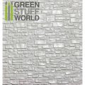 グリーンスタッフワールド[GSWD-1108]ABS Plasticard - SMOOTH ROCK WALL Textured Sheet - A4
