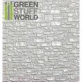 グリーンスタッフワールド[GSWD-1108]ABS Plasticard - SMOOTH ROCK WALL Textured Sheet - A4