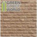 グリーンスタッフワールド[GSWD-1109]ABS Plasticard - ROUGH ROCK WALL Textured Sheet - A4