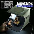 グリーンスタッフワールド[GSWD-1684]LED付ボックス撮影ブース
