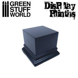 画像1: グリーンスタッフワールド[GSWD-1814]展示台:正方形(6x6cm)黒