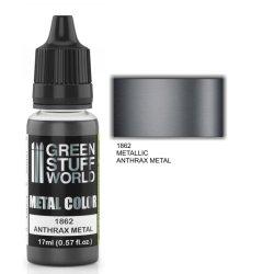 画像1: グリーンスタッフワールド[GSWC-1862]メタルカラー チャコールブラックメタル