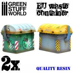 画像1: グリーンスタッフワールド[GSWD-1976]EU廃棄物収容コンテナ