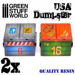 画像2: グリーンスタッフワールド[GSWD-1977]USA 大型ゴミ容器