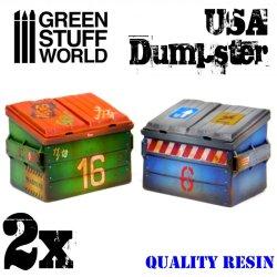 画像3: グリーンスタッフワールド[GSWD-1977]USA 大型ゴミ容器