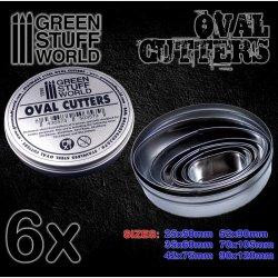 画像1: グリーンスタッフワールド[GSWD-1998]楕円形型ベース切り出し用楕円カッター