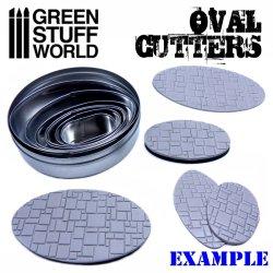 画像2: グリーンスタッフワールド[GSWD-1998]楕円形型ベース切り出し用楕円カッター