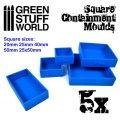 グリーンスタッフワールド[GSWD-2141]ベース成型用シリコン型 正方形