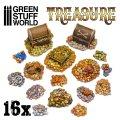 グリーンスタッフワールド[GSWD-2305]金銀の財宝と宝箱セット