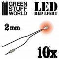 グリーンスタッフワールド[GSWD-73]Red LED Lights - 2mm
