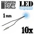 グリーンスタッフワールド[GSWD-78]Cool White LED Lights - 1mm