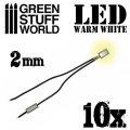 グリーンスタッフワールド[GSWD-79]Warm White LED Lights - 2mm