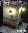 グリーンスタッフワールド[GSWD-82]10x Classic WALL Lamps with LED Lights