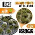 グリーンスタッフワールド[GSWD-10664]草むら 長さ12mm ドライグリーン(粘着剤付)