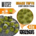 グリーンスタッフワールド[GSWD-10666]草むら 長さ12mm ライトグリーン(粘着剤付)