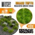 グリーンスタッフワールド[GSWD-1350]草むら 長さ12mm リアリステックグリーン(粘着剤付)