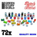 グリーンスタッフワールド[GSWD-2397]ジオラマアクセサリー 飲料用アルミ缶セット72個セット