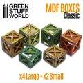 グリーンスタッフワールド[GSWD-10298]ジオラマアクセサリー 旧式木枠箱セット