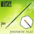 グリーンスタッフワールド[GSWD-2458]グリーンシリーズ 合成毛 平筆 サイズ 1