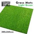 グリーンスタッフワールド[GSWD-2468]ジオラマ素材 芝マット ライトグリーン