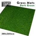 グリーンスタッフワールド[GSWD-2469]ジオラマ素材 芝マット ダークグリーン