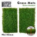 グリーンスタッフワールド[GSWD-10337]ジオラマ素材 芝マットカット版 新緑の牧草地