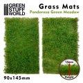 グリーンスタッフワールド[GSWD-10338]ジオラマ素材 芝マットカット版 ポンデローサグリーンの牧草地