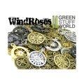 グリーンスタッフワールド[GSWS-9084] SteamPunk COMPASS WINDROSE Beads 85gr