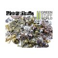 グリーンスタッフワールド[GSWS-9100] PIRATE SKULLS Beads 85gr