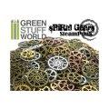 グリーンスタッフワールド[GSWS-9152] SteamPunk SPIRAL GEARS and COGS Beads 85gr
