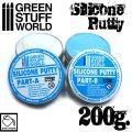 グリーンスタッフワールド[GSWD-9284]Blue Silicone Putty 200gr