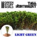 グリーンスタッフワールド[GSWD-9925]ジオラマ素材 背丈のある潅木[ライトグリーン]4cm
