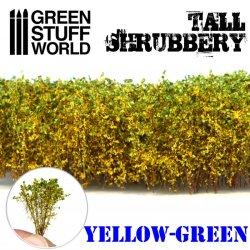 画像1: グリーンスタッフワールド[GSWD-9926]ジオラマ素材 背丈のある潅木[イエローグリーン]4cm
