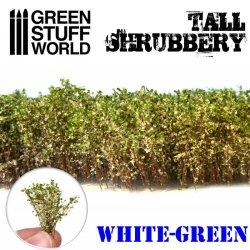 画像1: グリーンスタッフワールド[GSWD-9927]ジオラマ素材 背丈のある潅木[ホワイトグリーン]4cm