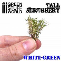 画像3: グリーンスタッフワールド[GSWD-9927]ジオラマ素材 背丈のある潅木[ホワイトグリーン]4cm