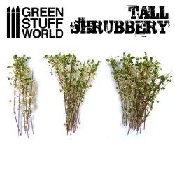 画像4: グリーンスタッフワールド[GSWD-9927]ジオラマ素材 背丈のある潅木[ホワイトグリーン]4cm