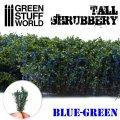 グリーンスタッフワールド[GSWD-9928]ジオラマ素材 背丈のある潅木[ブルーグリーン]4cm