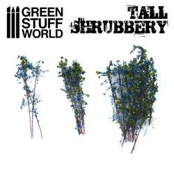 画像4: グリーンスタッフワールド[GSWD-9928]ジオラマ素材 背丈のある潅木[ブルーグリーン]4cm