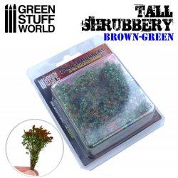 画像2: グリーンスタッフワールド[GSWD-9930]ジオラマ素材 背丈のある潅木[ブラウングリーン]4cm