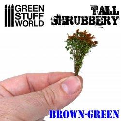 画像3: グリーンスタッフワールド[GSWD-9930]ジオラマ素材 背丈のある潅木[ブラウングリーン]4cm
