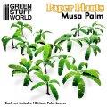 グリーンスタッフワールド[GSWD-10374]ジオラマ素材 ペーパープランツ バショウの木