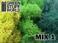 グリーンスタッフワールド[GSWD-70]アイランドモス 緑色ミックス