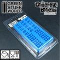 グリーンスタッフワールド[GSWD-97]コンクリートブロック製造セット シリコン型