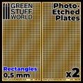 グリーンスタッフワールド[GSWD-10110]エッチングメッシュプレート 0.5mm長方形(小)